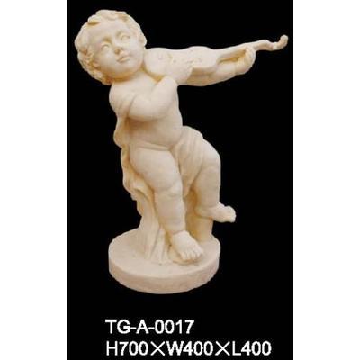 人物立体雕塑.小天使浮雕