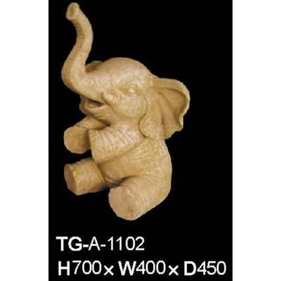 砂岩浮雕,圆雕.大象雕塑.立体雕塑