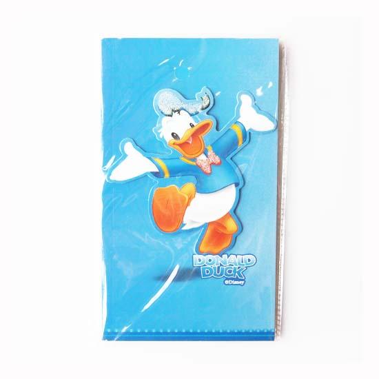 迪士尼唐老鸭笔记本 可爱立体卡通封面记事本
