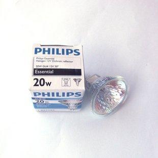 飞利浦 低压石英灯杯 12v (mr16防暴) 射灯 卤素灯泡