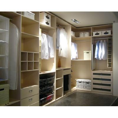 小衣帽间定制整体转角衣柜设计图图片