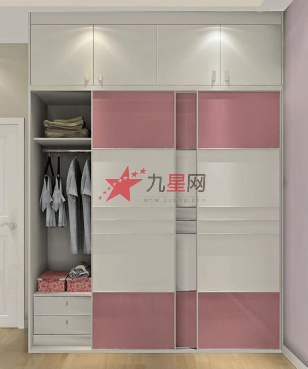 現代簡約臥房定制衣柜