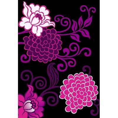 地毯 方块毯 牡丹花图案