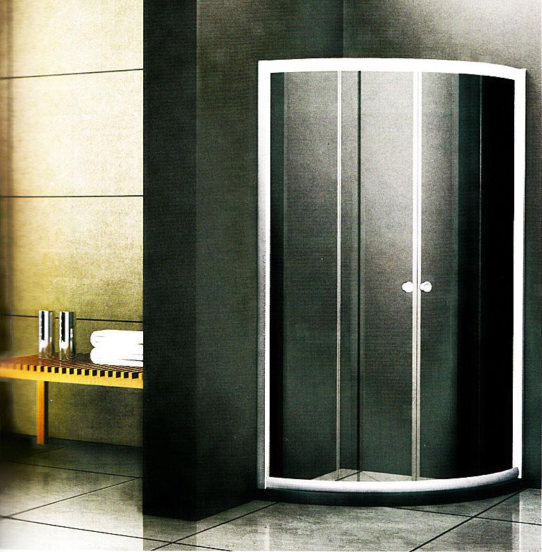 汇泰龙 圆弧形淋浴房 圆弧形双移门 hf-94305