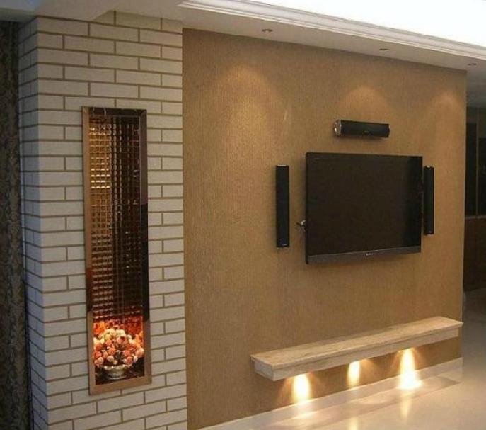 砖艺效果施工艺术漆 艺术墙 彩砂漆 电视背景墙 艺术背景墙 硅藻泥