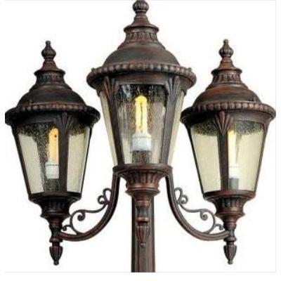 钜浩照明 小四叶草欧式高档小区花园别墅专用庭院灯路灯