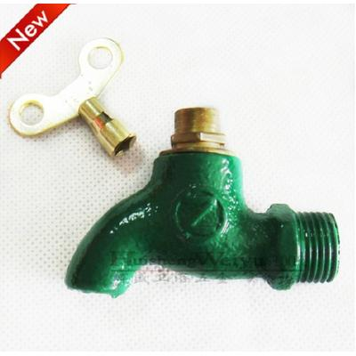 带锁户外龙头单冷水拖把池水龙头/钥匙防盗铁龙头