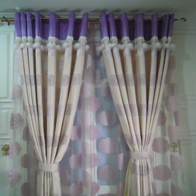 腾飞窗帘 暖色系列 欧式简约风格