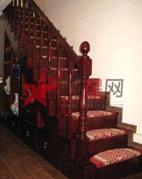 百邦木制品 实木楼梯