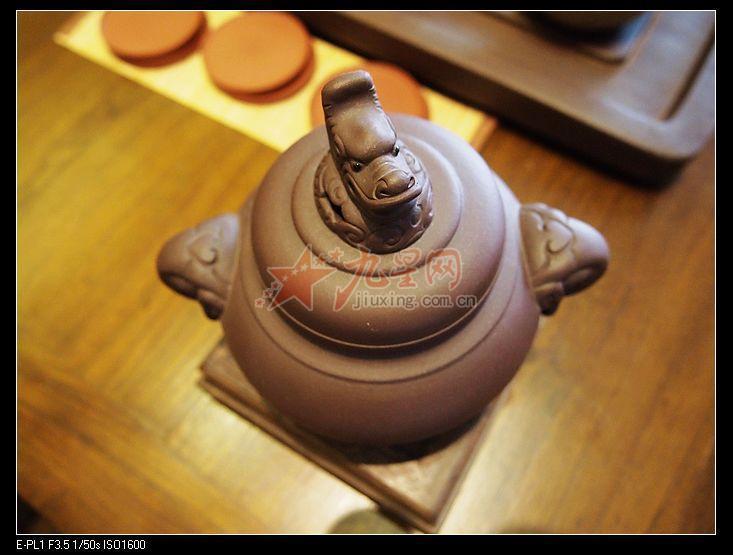 紫砂茶壶 张铁良大师手工制作