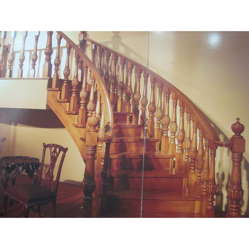 名步木制艺术楼梯0045
