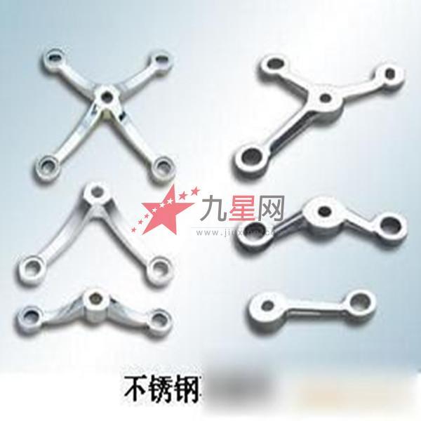 驳接爪支承结构多样,可满足不同建筑结构和装饰效果的需要.