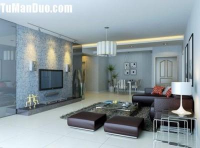 16款欧式新古典客厅电视背景墙