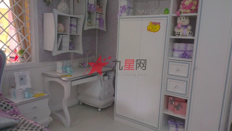欧式衣柜带书桌图片