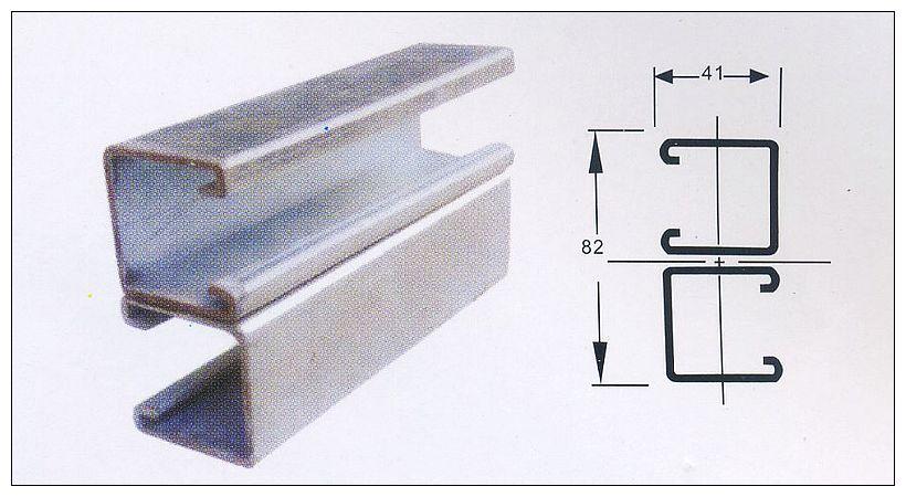 钢材/配件 管支架 > 瑞舟pz4141系列管道支架及其组合4142e   参考价