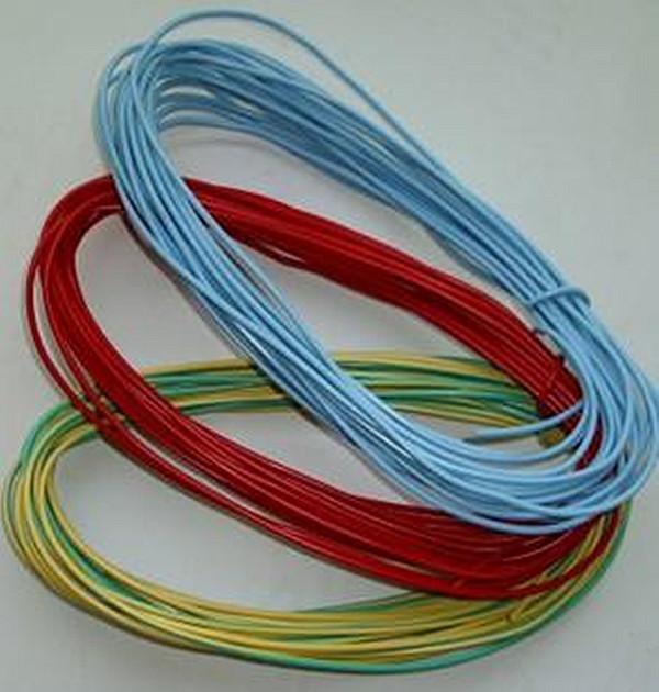 申德 熊猫电线 4平方单芯线