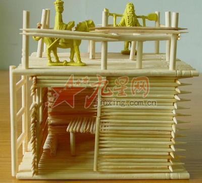 筷子床手工制作步骤图解