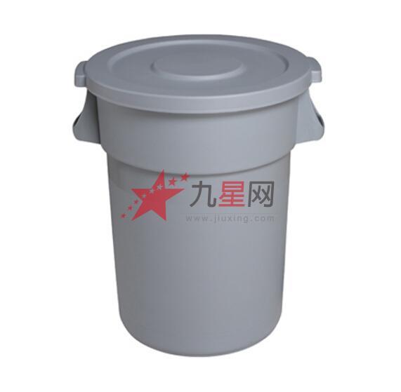 120l平盖垃圾桶