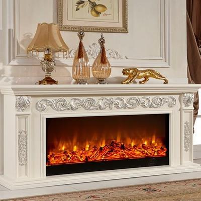 东阳木雕壁炉图片