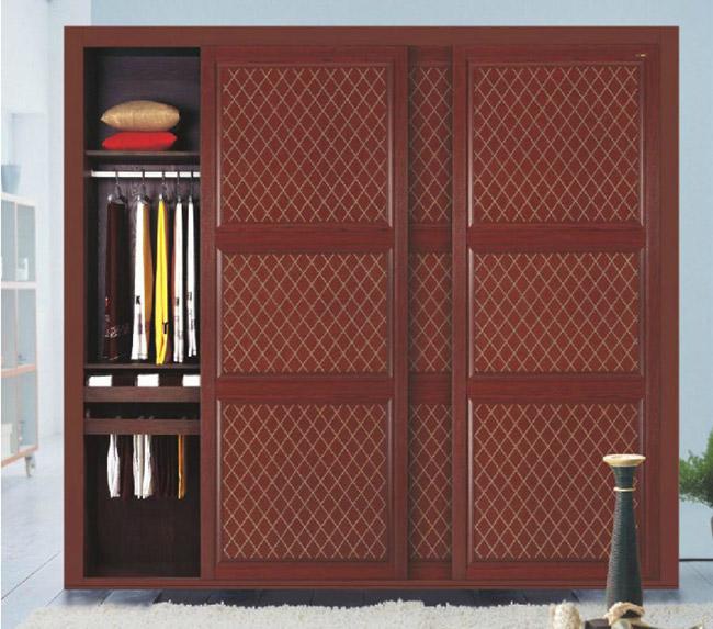 新款卧室衣柜推拉门 高档烤漆工艺欧式玻璃移门