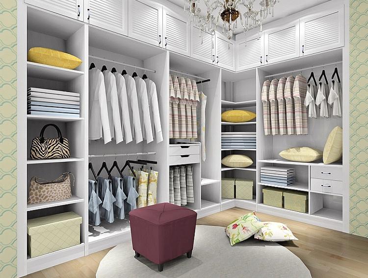 衣帽间柜子设计图纸展示