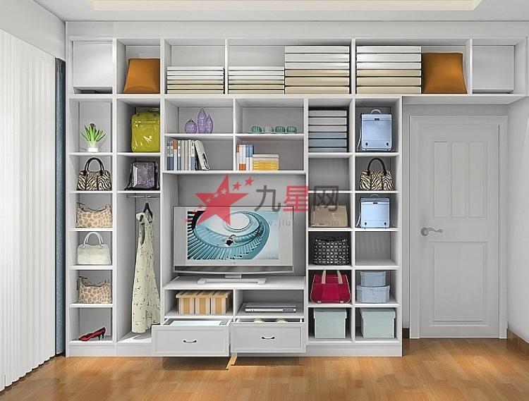 衣柜组合电视柜设计图展示