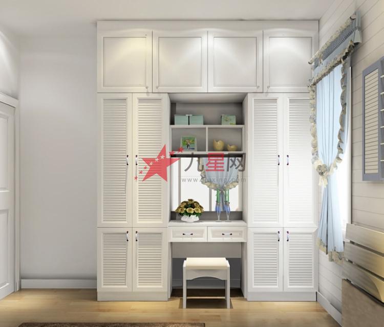 简约衣柜 韩式田园风格卧房家具