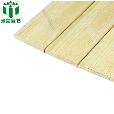 樟子松防腐木护墙板 木地板 木头吊顶阳台 板材庭院木板110*15
