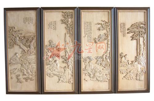 木制品 挂件类 琴棋书画