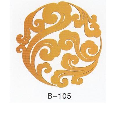 汉代木雕工艺矢量图