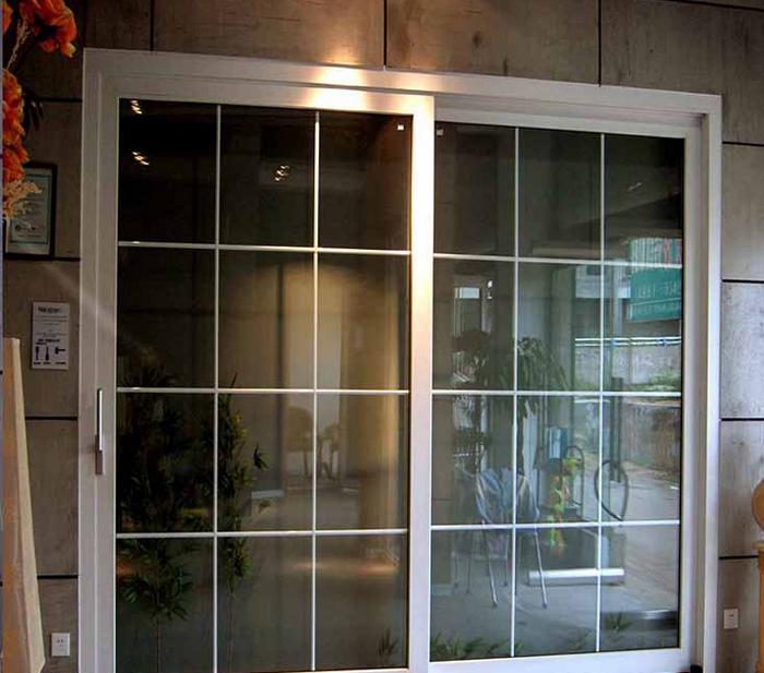 客廳隔斷推拉門陽臺鈦鎂合金移門中空雙層鋼化玻璃烤漆臥室門訂做