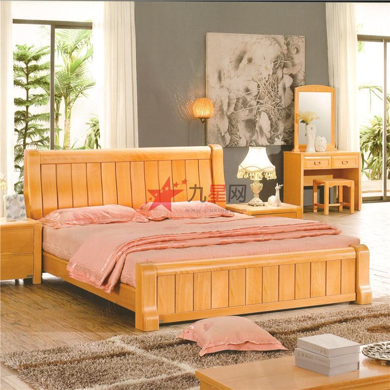 自己做实木床的设计图 图片合集
