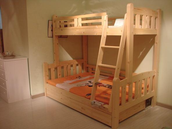 卫征家具 松木家具 儿童双层床 15