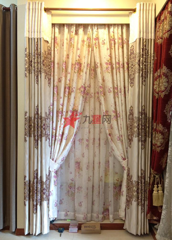 欧式,中式,美式田园,英式田园,雅致风格,地中海式  窗帘的选购图片