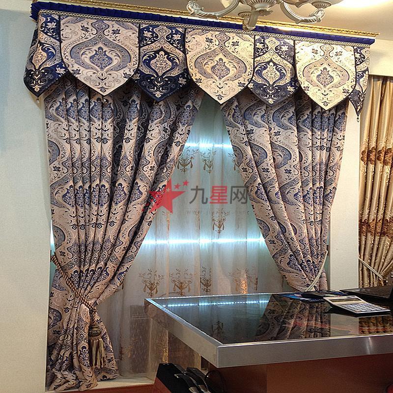 欧雅布艺 卧室客厅 现代欧式窗帘 oy-001
