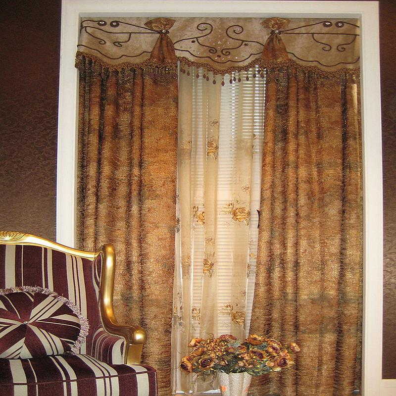 超豪窗饰 欧式风格 窗帘