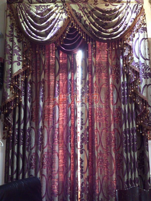 卧室客厅 欧式窗帘