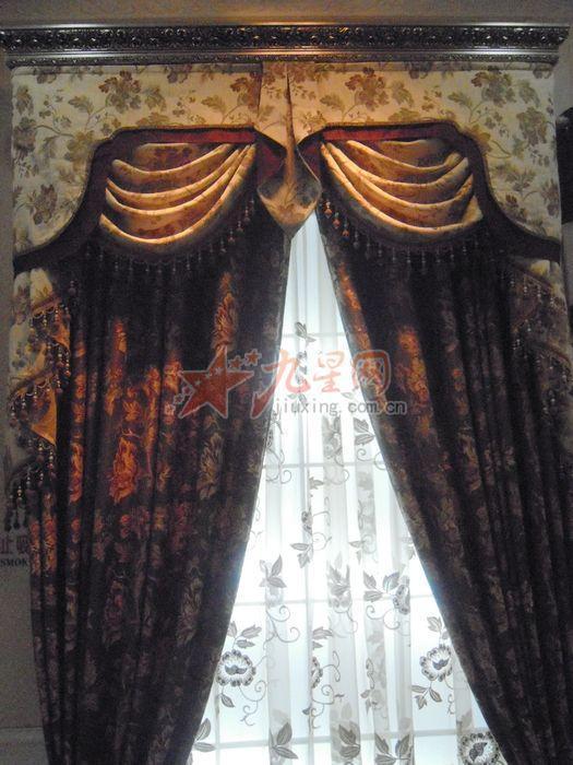 欧式花系类窗帘_添宇_欧式花系类窗帘