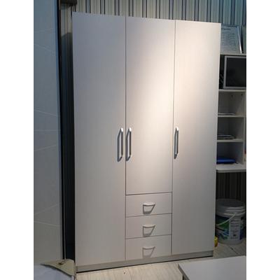 简尚家具 白色三门衣柜