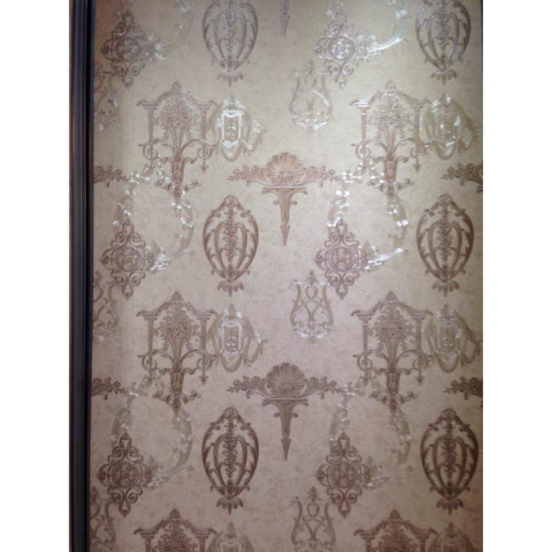 科翔墙纸 欧式复古典雅无纺布壁纸