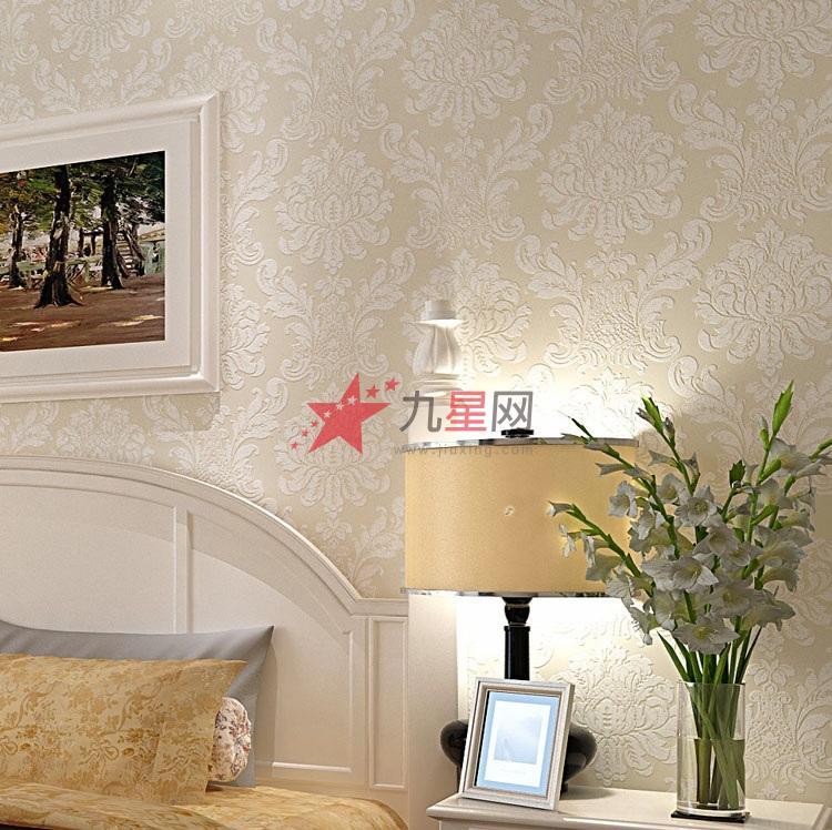 客厅背景墙墙纸 客厅背景墙墙纸效果图 家装客厅背景墙墙纸