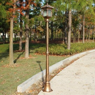特价古铜色庭院灯景观灯路灯户外仿古欧式草坪灯公园