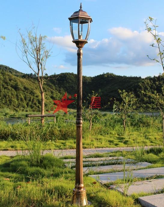 景观庭院灯路灯户外草坪灯灯别墅小区洋房创意图片