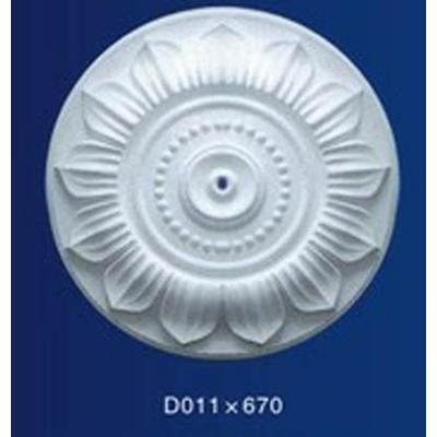 银松石膏线 石膏线条 grg grc外墙 定制圆盘d011系列