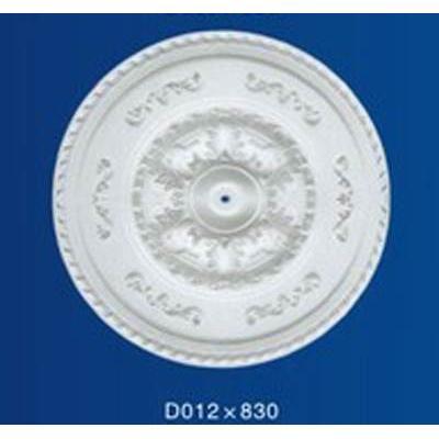 银松石膏线 石膏线条 grg grc外墙 定制圆盘d012系列