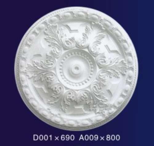 沪欧石膏线 石膏线条 grg grc外墙 定制圆盘d001系列