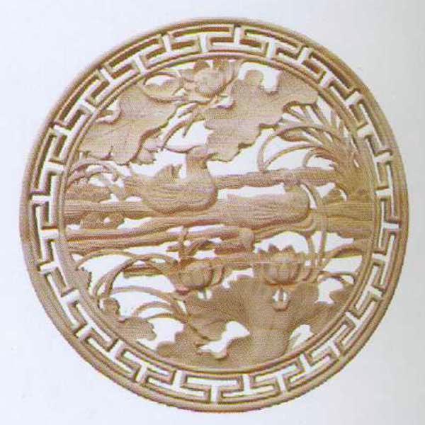 敏军木制品木雕圆盘g211系列木雕圆盘