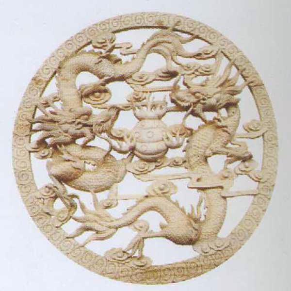 敏军木制品木雕圆盘g212系列木雕圆盘