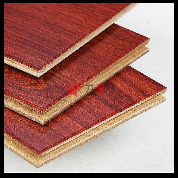 联丰地板 联丰强化复合地板强化木地板12mm红色锁扣地板lff0812