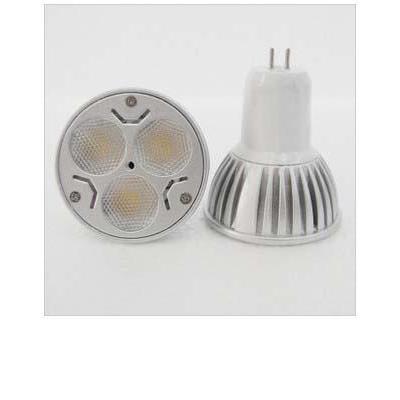 led灯杯超亮插脚 mr16 220v 3w灯杯 led射灯